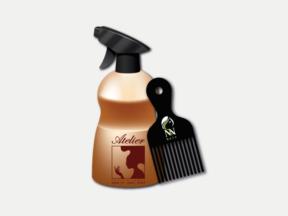 הדפסת טמפון מוצרי שיער וטיפוח